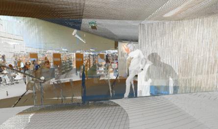 kirjasto 445x265 - 3D-mittaus, -mallintaminen ja -visualisointi (blogisarjan osa 2/7)