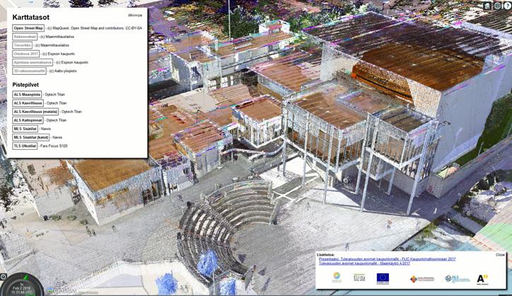 kulttuurikeskus - 3D-mittaus, -mallintaminen ja -visualisointi (osa 2/7)